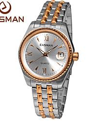 EASMAN® Watch Men Brand 2015 Rose Gold Quartz Watches For Men Fashion Wristwatches Designer Luxury Men Watches Cool Watch Unique Watch