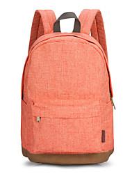 Korean Style for Cute Women Casual High School Backpack Orange