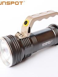 SUNSPOT K14 3 Mode 360 Lumens LED Flashlights 18650 Rechargeable / Nonslip grip / High Power LED