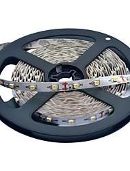 JIAWEN® 5 M 300 3528 SMD Bianco caldo / Bianco Accorciabile / Collagabile 25 W Strisce luminose LED flessibili DC12 V