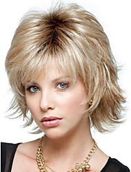 Truly Exquisite Full Head Short Curly Synthetic Hair Wig For Women