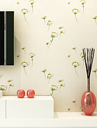 Contemporary Wallpaper Art Deco Small Flower Warm Wallpaper Wall Covering PVC/Vinyl Wall Art