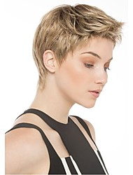 New Fashion Lady Popular High Temperature Wire  Personality Gray Short Wigs  Can Be Very Hot Can Be Dyed Color Picture