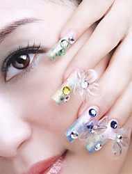 Fashion Mixed-Size Japanese Nail Diy Accessories Nail Art Decorations