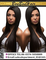 3pcs / lot goedkope Braziliaanse menselijk haar weven