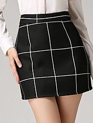 Summer Women's Work Mini Skirts Fashion Wild Thin Package Hip Skirt Pencil Skirt