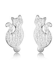 C c earrings korean tv drama fine jewelry mercurial superfly earrings for women silver earrings cat channel earrings