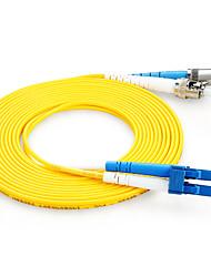 Shengwei® ST(UPC)-LC(UPC) Simplex Double Core Fiber Patch Cord 3M/5M/10M