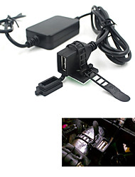 USB Powerport 12V 2.1A Dual Charger for Cell Phone Tablet Android GPS Motorcycle