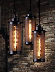 American Country Style Retro Industrial Single Head Lamp Bar Cafe Bar Restaurant Creative Metal Net Chandelier