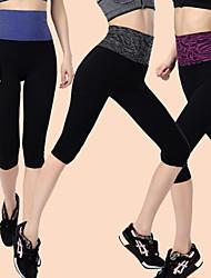 Corsa Pantaloni / Pantalone / 3/4 Collant / Semi-lungo Per donna Sfregamento ridotto Nylon / ChinlonYoga / Fitness / Corse / Attività