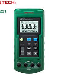 MASTECH-ms7221- tensione di corrente del misuratore - segnale sorgente 10V di tensione 24mA origine del segnale corrente