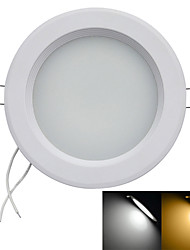 9W LED даунлайт Утапливаемое крепление 45 SMD 2835 700-900 lm Тёплый белый / Холодный белый Декоративная AC 85-265 V 1 шт.