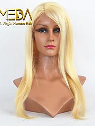"""venta caliente de 8 """"24"""" peluca llena recta color del pelo virginal brasileño # 613"""