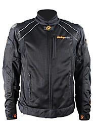 equitação casacos de equitação tribo motocicleta moto de proteção à prova de vento jaqueta de corrida (preto)