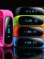 ti cc2541 v4.0ble bluetooth 4.0 di smart watch (vetro zaffiro, pedometro, frequenza cardiaca, impermeabile, anti-perso)