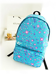 Women Canvas Weekend Bag Backpack - Pink / Blue / Green / Yellow