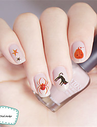 3Pcs 3D Design Nail Sticker DIY Tips Decoration