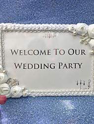 Satin / Acrylic Wedding Decorations - 1Piece/Set Unique Wedding Décor Wedding Floral Theme / Butterfly Theme