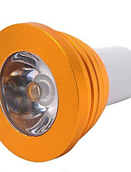 5W E14 / GU10 / E26/E27 LED Spot Lampen MR16 1 High Power LED 300 lm RGB Dimmbar / Ferngesteuert AC 85-265 V 1 Stück
