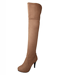 Women's Shoes   Heels / Fashion Boots Boots Outdoor / Office & Career / Casual Stiletto Heel OthersBlack  &812