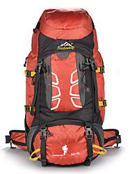 55 L Rucksack Klettern Freizeit Sport Camping & Wandern Wasserdicht Staubdicht tragbar Multifunktions