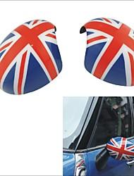 2pcs materiale abs uv copertura dello specchio porta protetta per Mini Cooper Countryman (auto oscuramento)