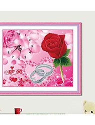 bricolaje punto de cruz kit, floral 60 * 50