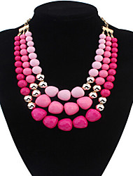 MPL Europe and the United States simple irregular bead bead necklace temperament
