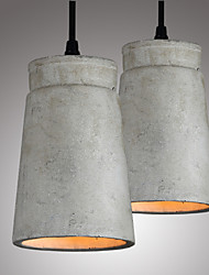 The Nordic Minimalist Retro Pendant Light Cement Vintage Lamp Restaurant Dining Room Coffee Hall Lighting Fixture