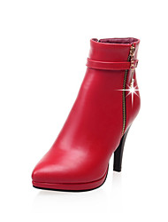 Women's Shoes Faux  Stiletto Heel Pointed Toe/Closed Toe Boots