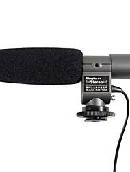 Kingma stereo mikrofon mikrofon til Canon T3i t2i 7d 5d 60D Nikon D3S D7000 dslr dv K7 k5