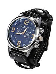 Мужской Наручные часы Кварцевый Японский кварц Кожа Группа марка