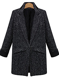 Yana Women'S Fashion Charm Temperament Thick Woolen Coat Quilted