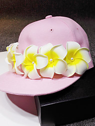 Fashion Lucky Flower Pink Hat