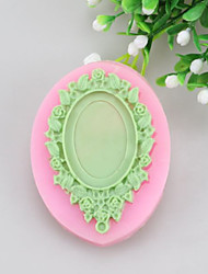 Mirror Fondant Cake Cake Chocolate Silicone Molds,Decoration Tools Bakeware