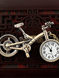 Man And Wwoman Quartz Bike Pocket Watch Cool Watch Unique Watch