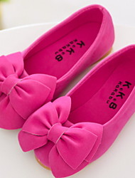 FLY   Girls' Casual Bowknot Pure Color Shoes