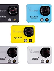 "Aoluguya X5 2"" TFT 12MP Full HD 2K WiFi Sport DV Digital Video Camera and EU Plug (Assorted Colors)"