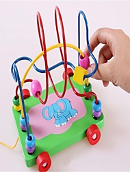 The Elephant Round Bead Car