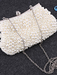 Actual Image Designer Party Prom Hand Bags Bridal Accessories Full Pearls Bridal Handbags