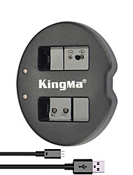 KingMa® Dual Slot USB Battery Charger for Nikon EN-EL20 Battery for Nikon COOLPIX A AW1 J1 J2 J3 S1 Camera