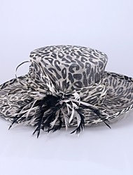 Women's Flax Headpiece-Wedding Special Occasion Hats 1 Piece