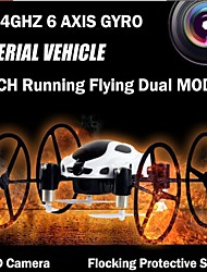 FY318B Quadcoptero Drone With 2.4GHz 4CH 6 AXIS GYRO 0.3MP Camera LED Light RC Toys Radio Control Quadricopter