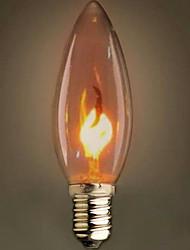 c35 bruciare bolla appuntito piccolo giallo lampadina e14 220 v edison vite fonte di luce retrò