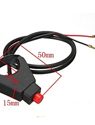 Universal 22MM Motorcycle ATV Handlebar Horn Button Kill Switch