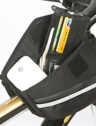 Bag quadro da bicicleta ( Preto , Poliéster 1680D , 0.85L L)  Á Prova-de-Água/Á Prova de Humidade/Vestível/Multifuncional Ciclismo