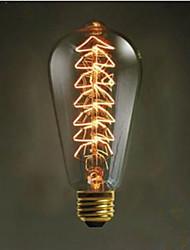 st64 творческий Эдисон свет 40 Вт