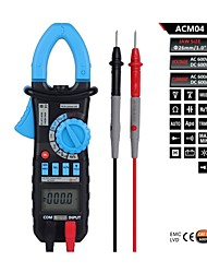 Bside ACM04 6600 Counts Auto Range 600A AC&DC Current True RMS Digital Clamp Meter with Capacitance +Hz Measurement