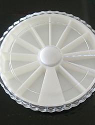 6cm manucure diamant plats boîte à bijoux manucure dentelle diamant disque boîte à outils de Däppen
